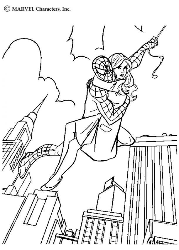 Spiderman Zum Ausmalen Ausmalbilder Ausmalbilder Ausdrucken De
