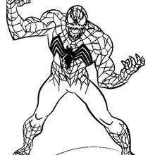 Venom bereit für den Angriff