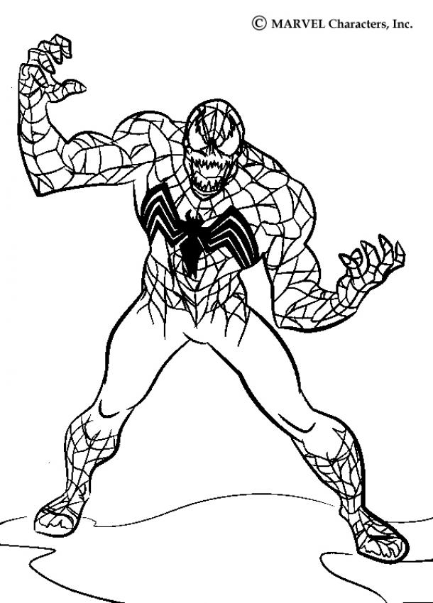 Venom Zum Ausmalen Dehellokidscom
