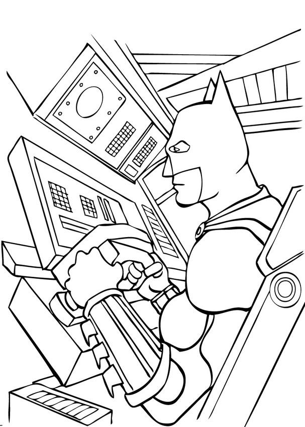 Lego Superhelden Malvorlagen Batman 3 Elegant Batman 3: Batman Fährt Das Batmobil Zum Ausmalen Zum Ausmalen