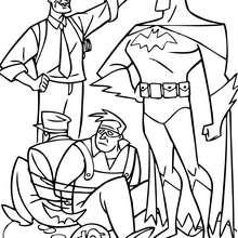 Batman fängt Banditen