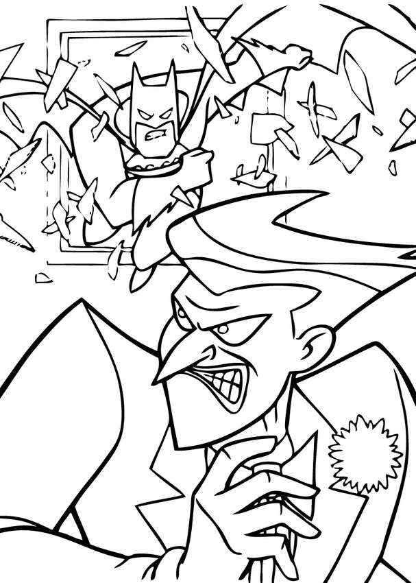 Batman Zum Ausmalen Ausmalbilder Ausmalbilder Ausdrucken De