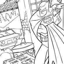 Batman bekämpft das Böse