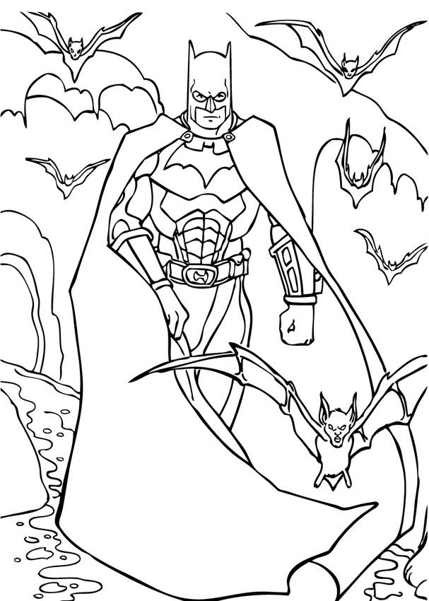 Batman Ausmalbilder Videos Für Kinder Lesen Basteln Hellokids