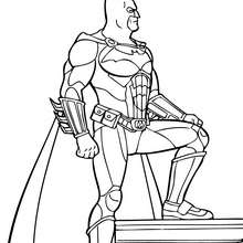 Batman die Supermacht zum Ausmalen