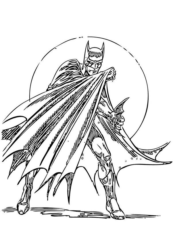 Superhelden zum ausmalen - de.hellokids.com