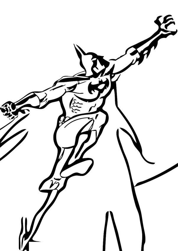 Batman klettert zum ausmalen zum ausmalen - Batman a colorier ...