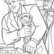 Bruce Wayne und Alfred Pennyworth