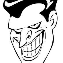 Jokers Grinsen