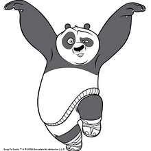 Po der Kung Fu Panda tanzt