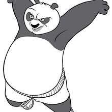 Böser Kung Fu Panda