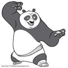 Kämpf mit Kung Fu Panda
