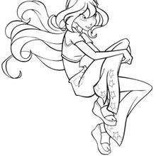 Das schöne Winx Mädchen Bloom