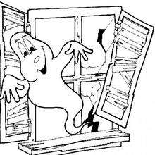 Geist im Fenster