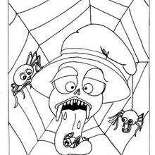 Halloweenspinnen