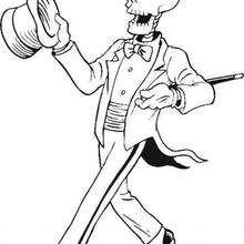 Skelett-Gentleman