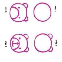 Wie man einen jungen Zeichentrickbären malt