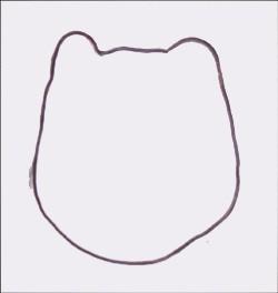 Wie du eine Katze mit deiner Hand malst