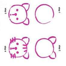 Wie man eine Katze malt
