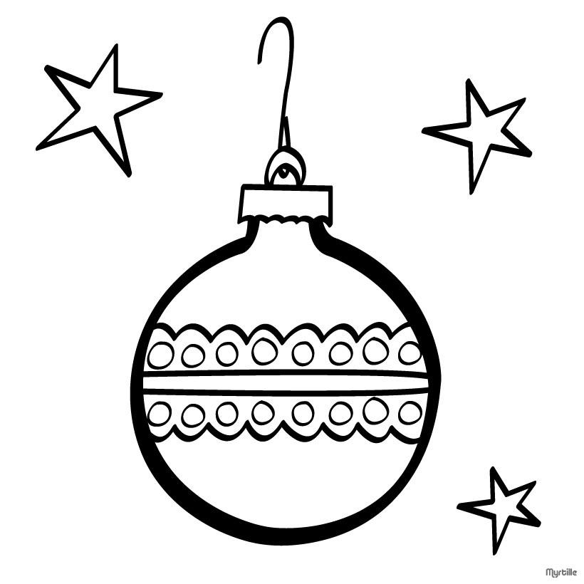 Weihnachtskugeln Zum Ausmalen Zum Ausmalen De Hellokids Com