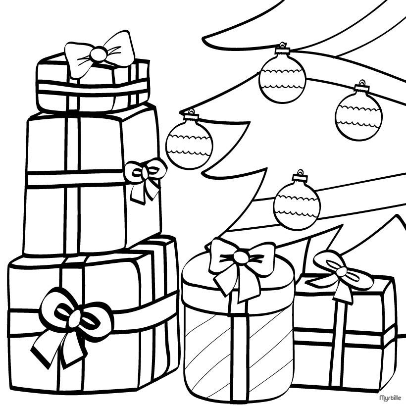 weihnachtsgeschenke unter dem weihnachtsbaum ornament zum ausmalen zum ausmalen. Black Bedroom Furniture Sets. Home Design Ideas