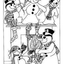 Schneemanns Weihnachtsparty
