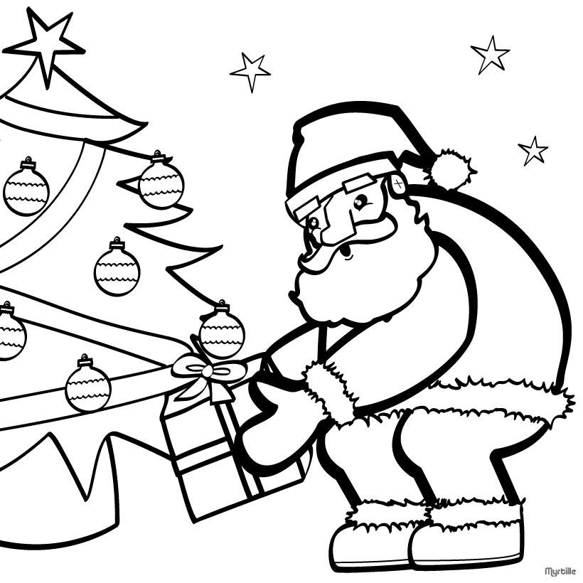 weihnachtsbaum und weihnachtsmann zum ausmalen zum ausmalen. Black Bedroom Furniture Sets. Home Design Ideas