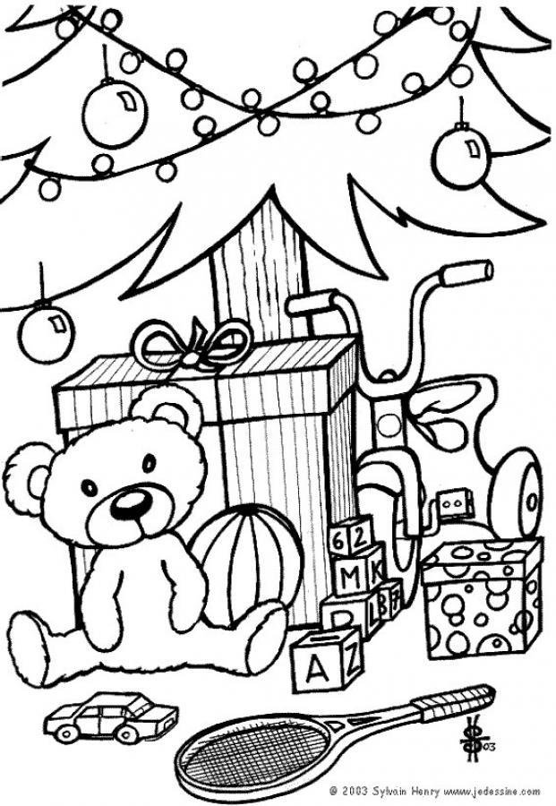 weihnachtsbaum und teddyb r zum ausmalen zum ausmalen de. Black Bedroom Furniture Sets. Home Design Ideas