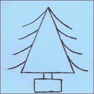 wie malt man wie man einen weihnachtsbaum malt de. Black Bedroom Furniture Sets. Home Design Ideas