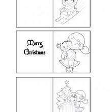 Weihnachtsgeschenkkarten