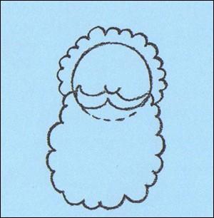 Wie man den Weihnachtsmann malt