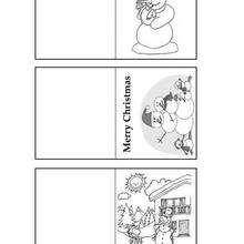 Schneemann Geschenkkarten