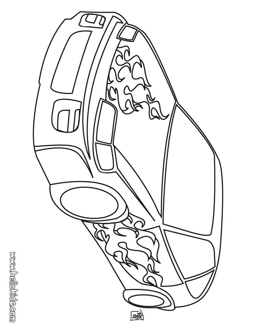 Getunte Autos Zum Ausmalen Ausmalbilder Ausmalbilder Ausdrucken