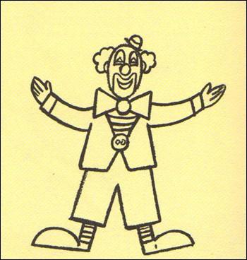 Wie man einen jonglierenden Clown malt