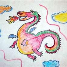 Wie man einen Drachen malt