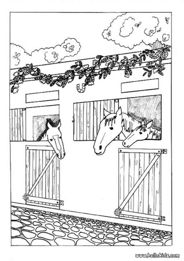 Pferd Zum Ausmalen Ausmalbilder Ausmalbilder Ausdrucken De