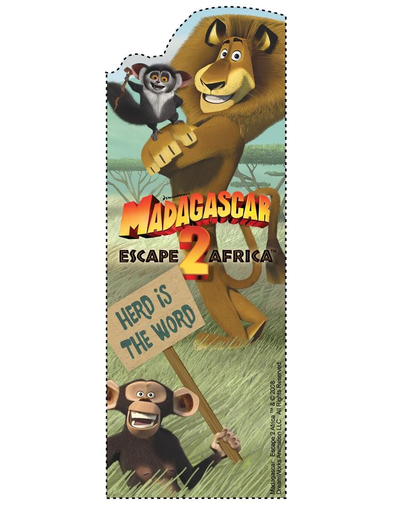 Madagascar 2: Flucht nach Afrika Lesezeichen