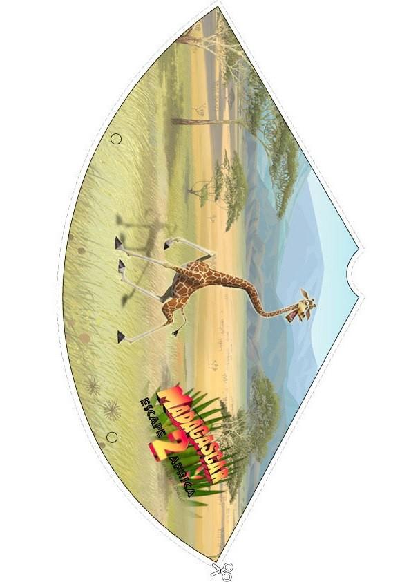 Madagascar 2: Melman die Giraffe Partyhut
