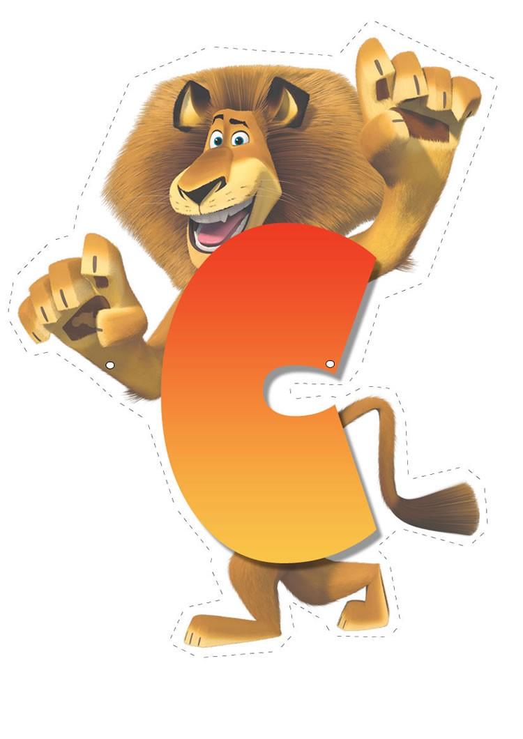 Madagascar 2: Buchstabe C