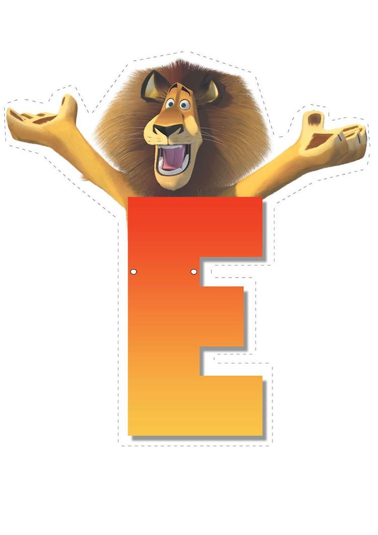 Madagascar 2: Buchstabe E