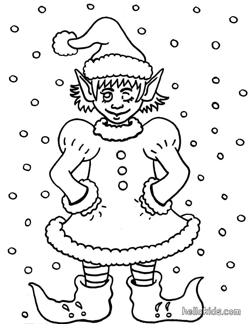 malvorlage weihnachtswichtel weihnachtswichtel zum