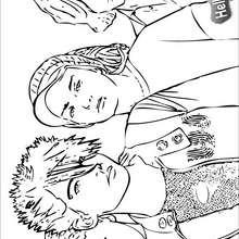 Tokio Hotel Band zum Ausmalen