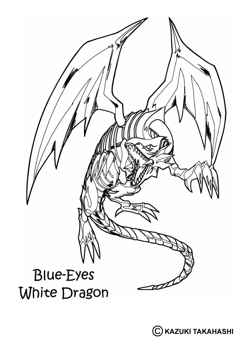 Ausmalbilder Drachen : Yu Gi Oh Zum Ausmalen Ausmalbilder Ausmalbilder Ausdrucken De
