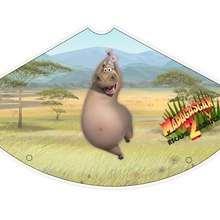 Madagascar 2: Gloria das Nilpferd Partyhut