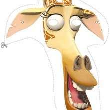 Madagascar 2: Melman die Giraffe Maske