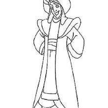 Aladdin zum Ausmalen