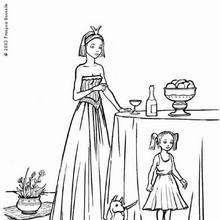 Prinzessin mit Hund