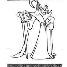 Jafar und Iago zum Ausmalen