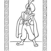 Prinz Ali zum Ausmalen