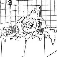 Badezimmer zum Ausmalen